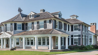 Warm Welcome - Shingle Exterior & Landscape - Cape Cod, MA Custom Home