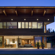 Contemporary Exterior by Warmington & North