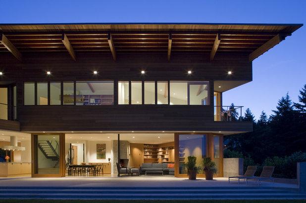 Contemporary Exterior by Warmington & North