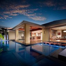 Contemporary Exterior by BLADE Landscape Design