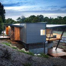 Contemporary Exterior by Maxa Design