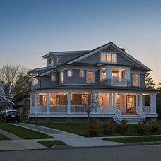 Traditional Exterior by Richard Bubnowski Design LLC