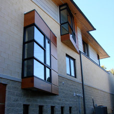 Contemporary Exterior by kevin akey - azd architects - michigan