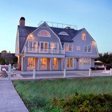 Beach Style Exterior by Sean O'Kane AIA Architect P.C.