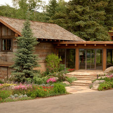 Rustic Exterior by Shepherd Resources Inc / AIA