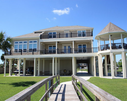 Beach Style New Orleans Exterior Design Ideas Remodels