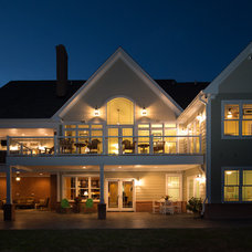 Traditional Exterior by CUSTOMIZED CONSTRUCTION INC