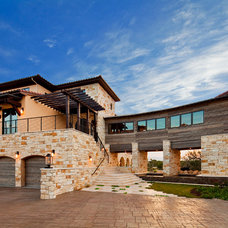 Mediterranean Exterior by Jenkins Custom Homes