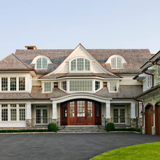 Traditional Exterior by Robert A. Cardello Architects