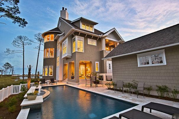 Traditional Exterior by Daniel M Martin, Architect LLC