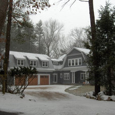 Traditional Exterior by Mahoney Architects