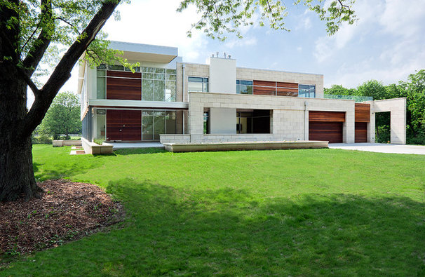 Contemporary Exterior by funke architects