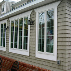 Traditional Exterior by ALine Architecture LLC