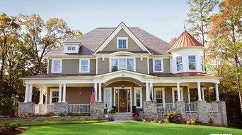 Weathered Grey Interlock Slate Roofing - South Carolina
