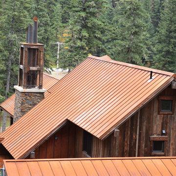 Weathering Steel Standing Seam Roof & Siding