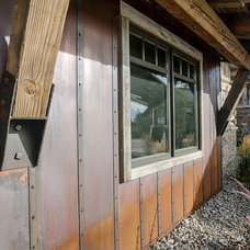 Rustic Exterior by Bridger Steel, Inc
