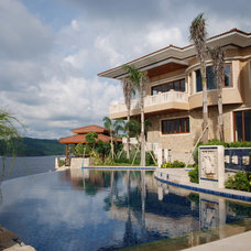 Asian Exterior Weekend House