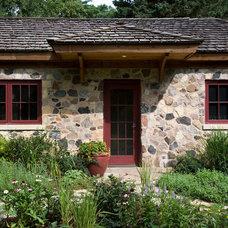 Farmhouse Exterior by Ann Clark Architects LLC