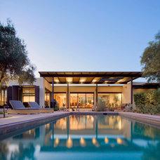 Modern Exterior by Baker + Hesseldenz Design, Inc.