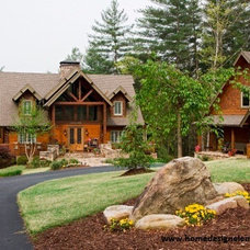 Traditional Exterior by Home Design Elements LLC
