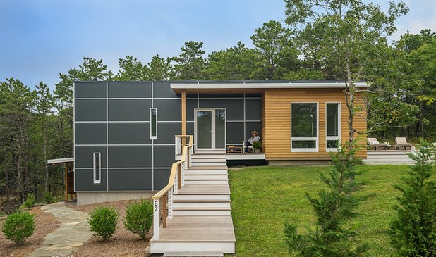 Houzz Tour: Modern and Energy-Efficient on Cape Cod