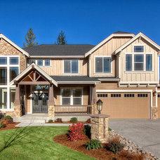 Craftsman Exterior by Steve Jensen Homes