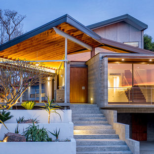 Photo of a contemporary exterior in Perth.