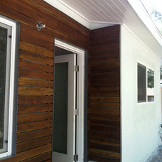 Contemporary Exterior by Angel City Builders