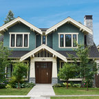 Lee Residence Craftsman Exterior Vancouver By
