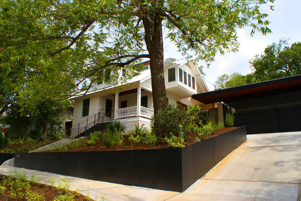 Traditional Exterior by Tom Hurt Architecture