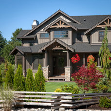 Traditional Exterior by Willson Design