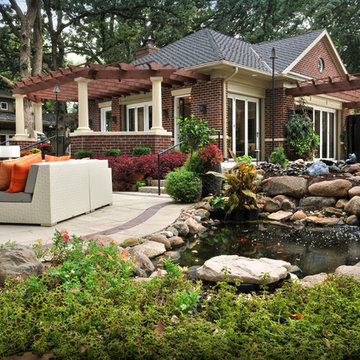 West Des Moines, IA - Pool House | Eclectic