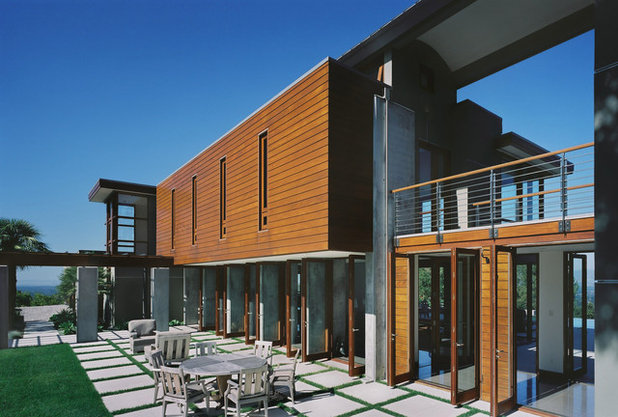 Contemporary Exterior by modern house architects