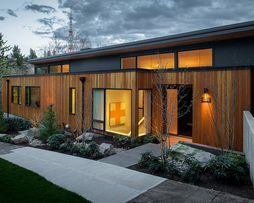 Vertical Wood Siding Houzz