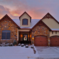 Traditional Exterior by Advance Homes Inc
