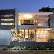Contemporary Exterior by Yael K Designs