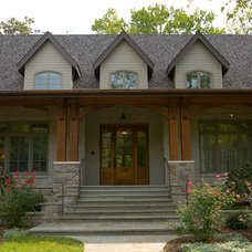 Traditional Exterior by Marcelle Guilbeau, Interior Designer