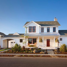 Farmhouse Exterior by Goff Architecture