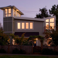 Contemporary Exterior by Schulte Construction