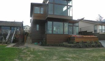 West Seattle custom cedar siding project