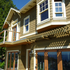 Traditional Exterior by Seattle HomeWork