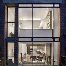 Contemporary Exterior by David Howell Design
