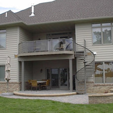 Traditional Exterior by UglyDeck.com