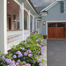 traditional exterior by Debra Kling Colour Consultant