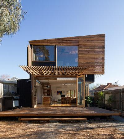 コンテンポラリー 家の外観 by Ben Callery Architects