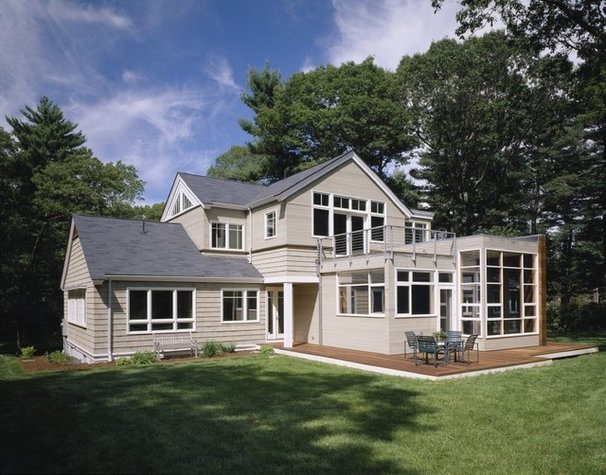 Transitional Exterior by Catalano Architects