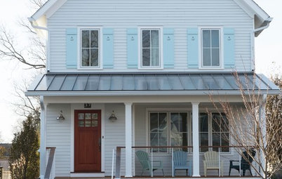 Houzz Tour: Modern Farmhouse Emerges From Hurricane Sandy Devastation
