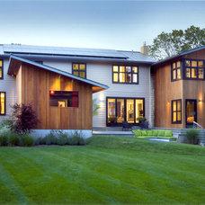 Contemporary Exterior by Tallman Segerson Builders