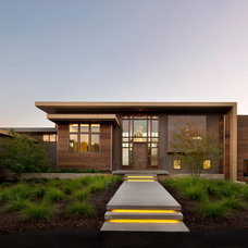 Modern Exterior by Tobin Dougherty Architects