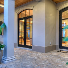 Contemporary Exterior by Westwater Construction Inc.